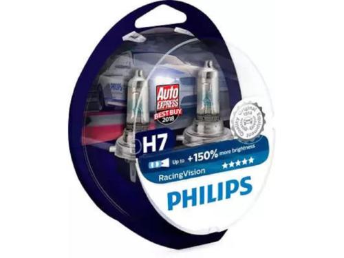 KIT LAMPADE PHILIPS H7 12V RACING VISION +150%
