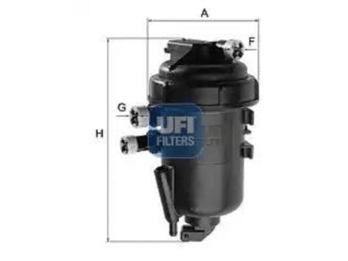 """FILTRO GASOLIO COMPLETO FIAT SEDICI 1.9 Mjet """"120cv-136cv"""""""