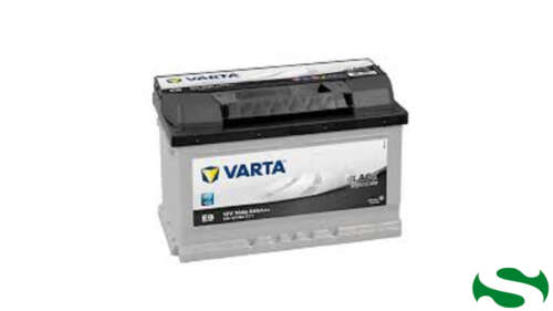 """BATTERIA VARTA BLACK E9 70AH DX """"640 A EN"""""""